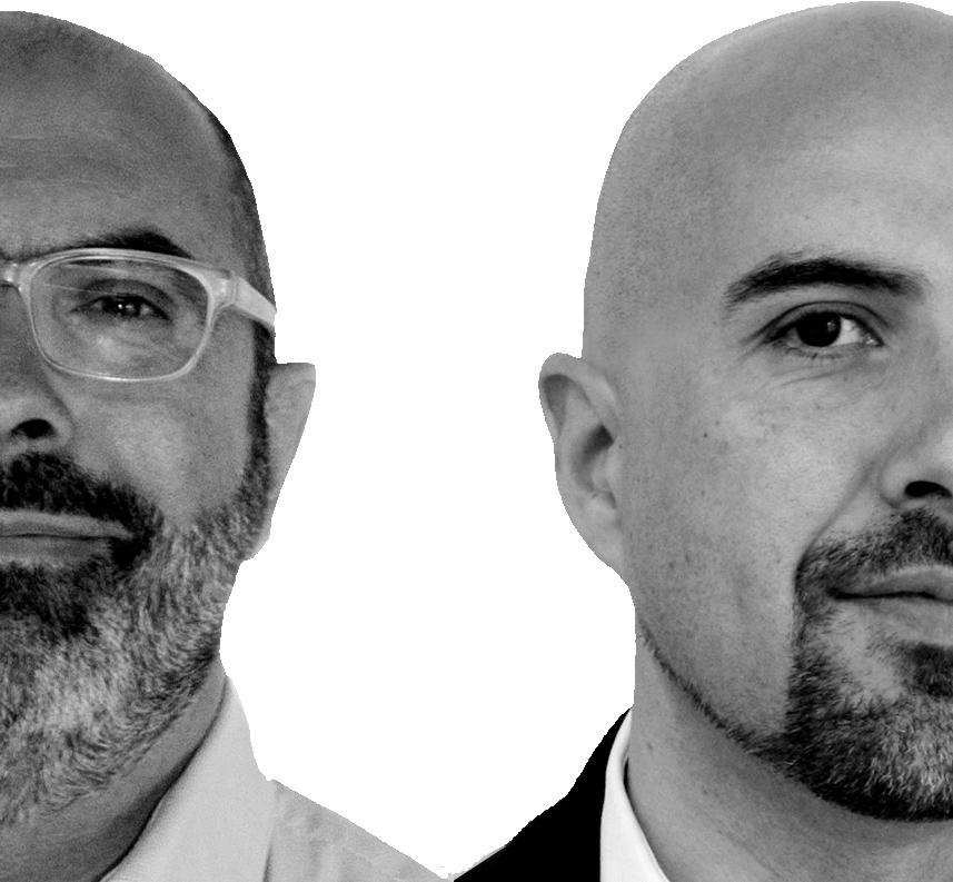 Javier Barcos Berruezo y Manuel Enríquez Jiménez